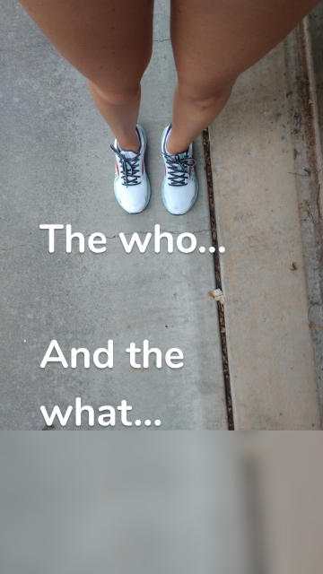 The who... And the what...